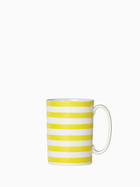 charlotte street with a twist accent mug by kate spade new york