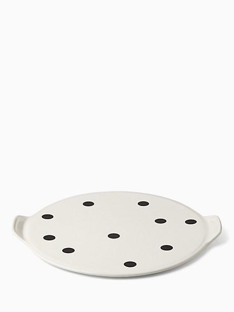 Kate Spade Any Way You Slice It Pizza Stone, Deco Dot