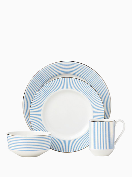 Kate Spade Laurel Street 4 Piece Place Setting, White
