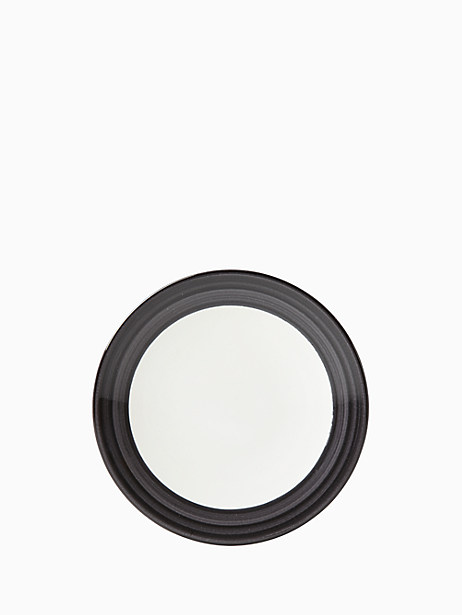Charles Lane Charcoal Accent Plate by kate spade new york