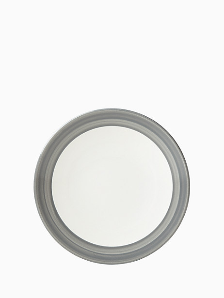 Charles Lane Charcoal Dinner Plate by kate spade new york