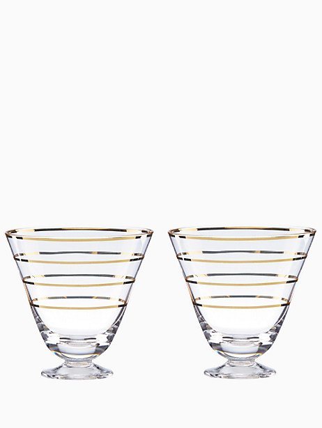 Melrose Avenue Cocktail Glass, Set of two by kate spade new york