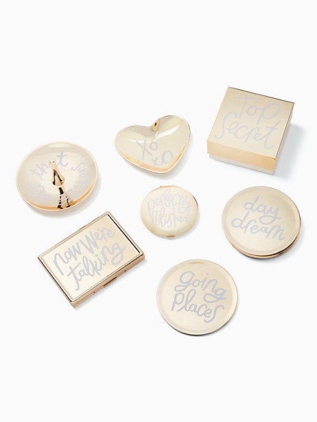 all that glistens phrases coasters by kate spade new york