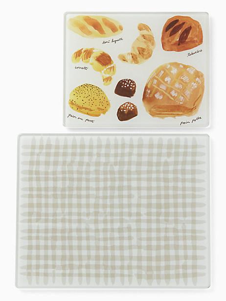 Freshly Baked Glass Prep Boards by kate spade new york