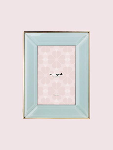 Kate Spade Charles Lane Mint 4x6 Frame, Mint