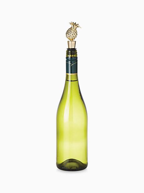 Melrose Avenue Bottle Stopper, Pineapple by kate spade new york