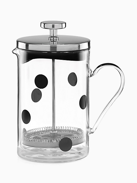 Deco Dot French Press by kate spade new york