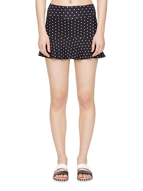 Kate Spade Flounce Peplum Skirt, Signature Polka Dot - Size L