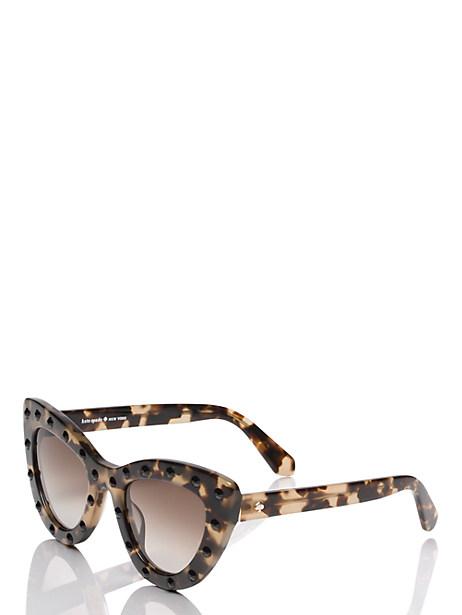 Kate Spade Luann Sunglasses, Havana/Honey