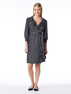 striped daniella dress