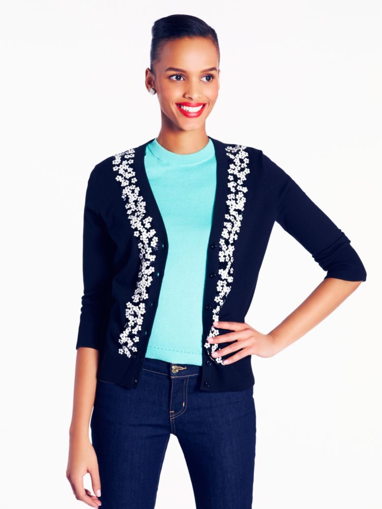 sequined kati cardigan