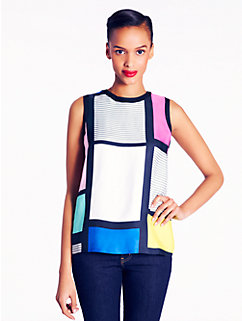 carolina top in mondrian