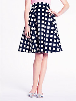 checkered sadie skirt