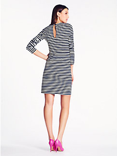 striped angie dress