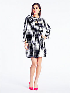 striped dorothy coat