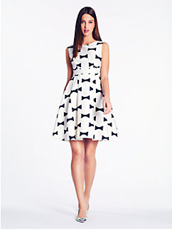 bow tie marilyn dress