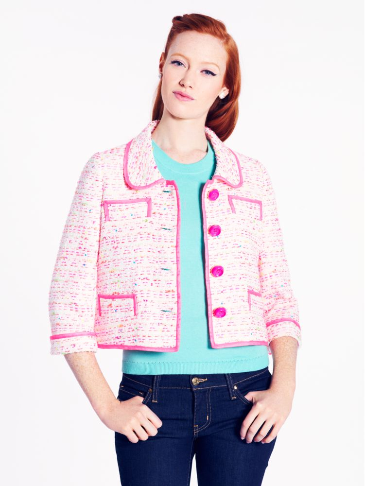 tweed addie jacket