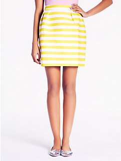 striped barry skirt
