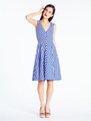 striped ethel dress