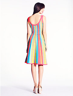 striped ariele dress