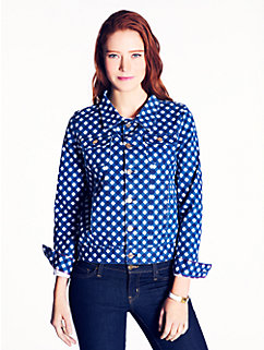 gingham broome street jacket