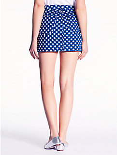 gingham broome street mini skirt