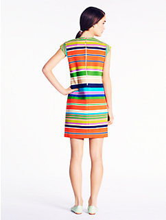 striped nico dress