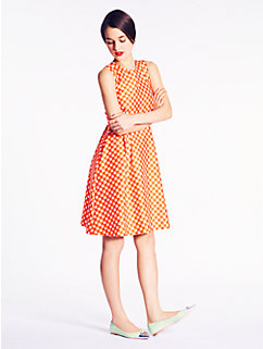 gingham tallulah dress