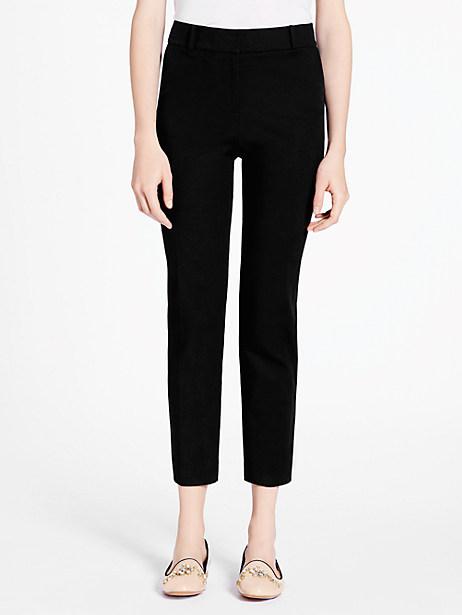 Kate Spade Margaux Pant, Black - Size 12