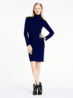 patch leather sweater dress by kate spade new york