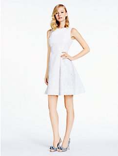 sequin fit and flare dress by kate spade new york