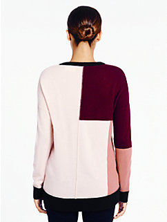 colorblock slouchy sweater by kate spade new york
