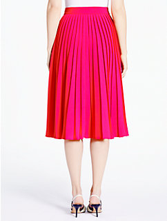 accordion pleat crepe skirt by kate spade new york