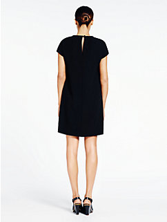cap sleeve crepe dress by kate spade new york