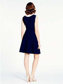 fluted scuba dress by kate spade new york
