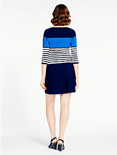 striped scuba dress by kate spade new york