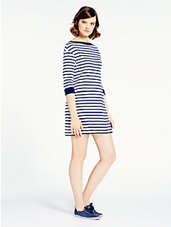 striped cotton jersey dress by kate spade new york