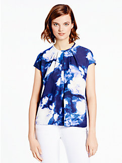 dusk clouds crepe top by kate spade new york