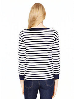 stripe pocket top by kate spade new york
