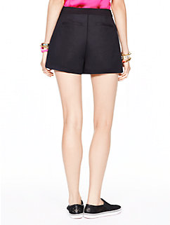 fancy meeting you cotton twill short by kate spade new york