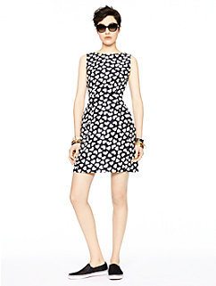 dancing hearts domino dress by kate spade new york