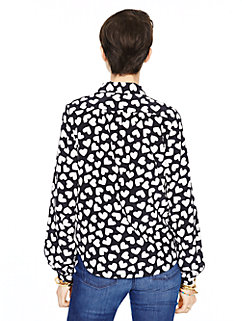 dancing hearts popover by kate spade new york