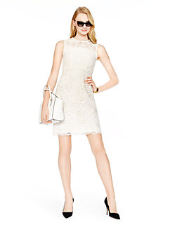 floral lace sheath dress by kate spade new york