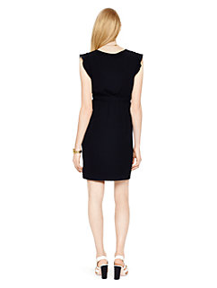 fluid crepe frill dress by kate spade new york