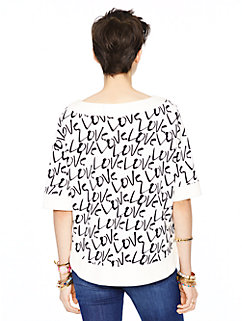 love pullover by kate spade new york