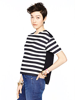 fancy meeting you stripe ramona top by kate spade new york