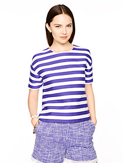 stripe ramona top by kate spade new york