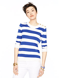 stripe sweater by kate spade new york