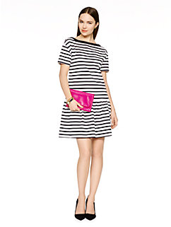 drop waist stripe jersey dress by kate spade new york
