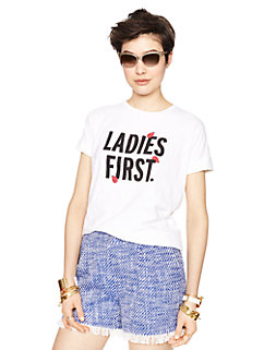 ladies first tee by kate spade new york